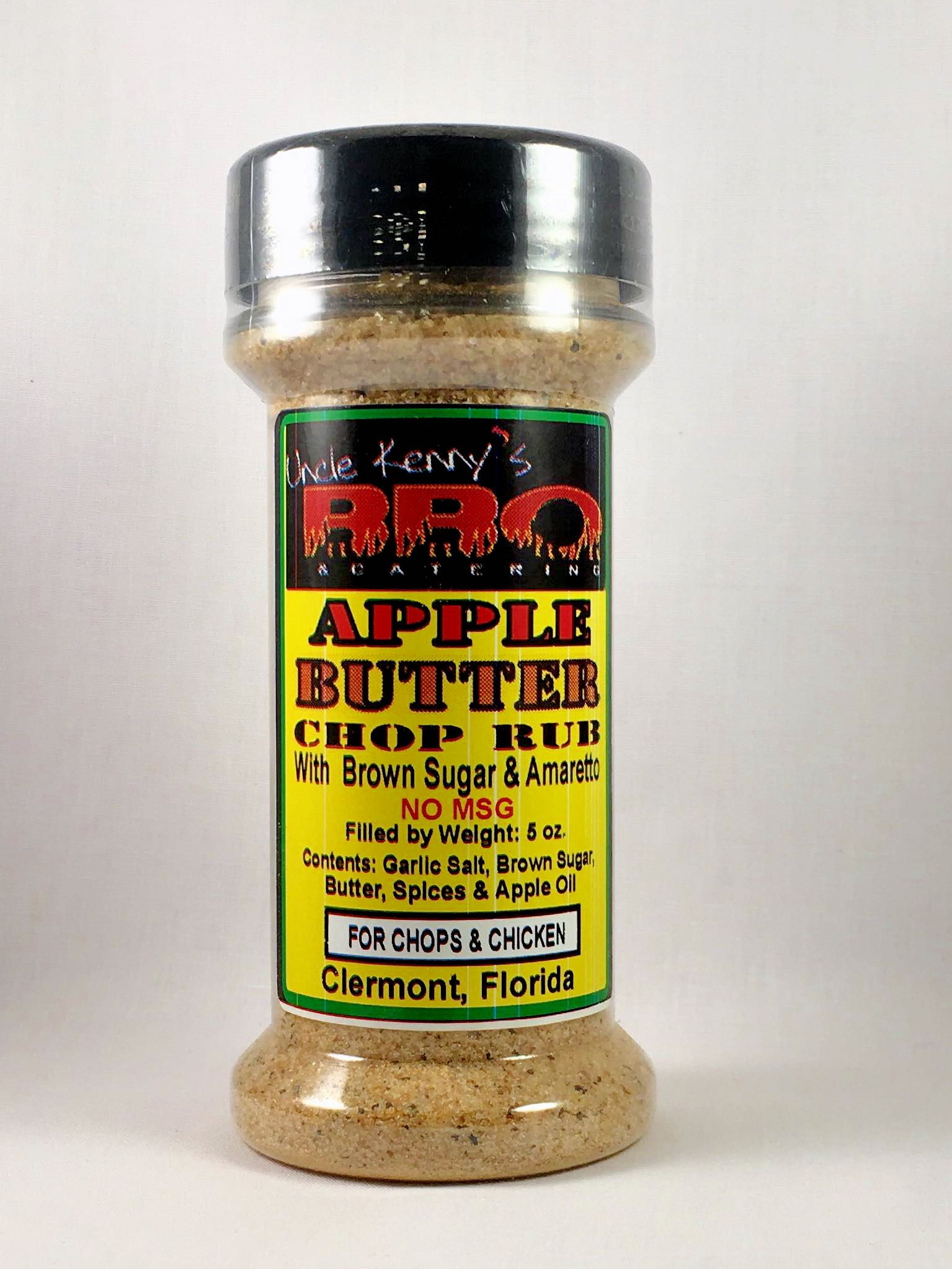 apple butter chop rub